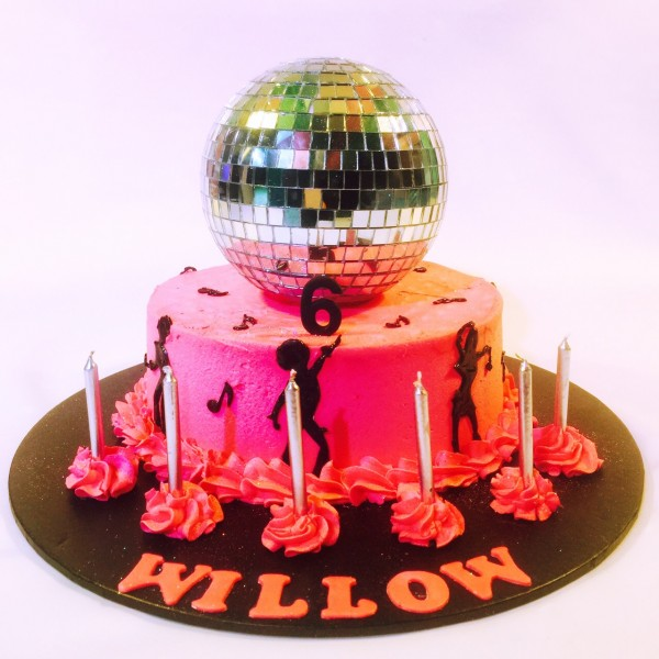 Disco Party Cake Images : Cakes - The Party Room For Kids